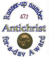 Antichrist-for-a-Day Award